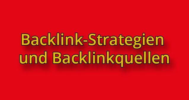 Backlinkstrategien und Tipps für Backlinkquellen #008