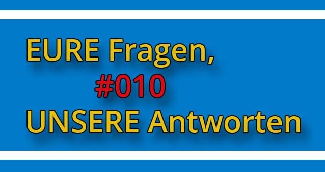 Q&A: Eure SEO Fragen, unsere Antworten #010