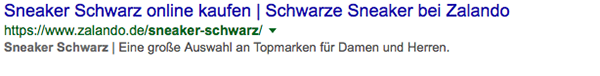 Snippet Optimierung 1 Zeile