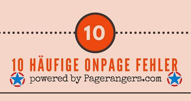 Diese 10 häufigen OnPage-Fehler solltet ihr vermeiden