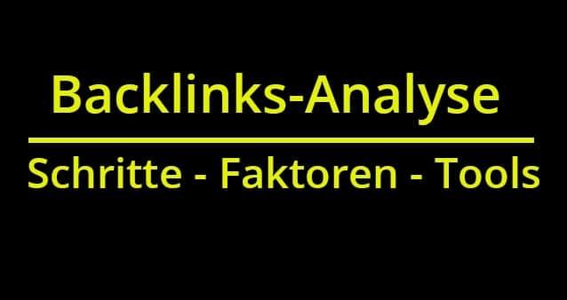 So funktioniert eine Backlink-Analyse – wichtige Schritte, zu analysierende Faktoren und Tools #018