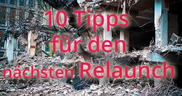 10 Tipps für den nächsten Website-Relaunch #025