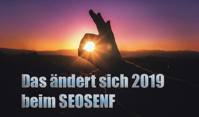 Das ändert sich 2019 beim SEOSENF #084