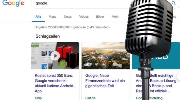 Google integriert Podcasts in die klassische Google-Suche