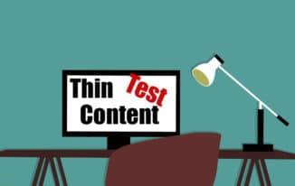 """Mit dem """"Thin Content Test"""" mehr Sichtbarkeit bei Google erlangen #109"""