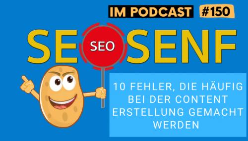 10 Fehler, die häufig bei der Content Erstellung gemacht werden #150